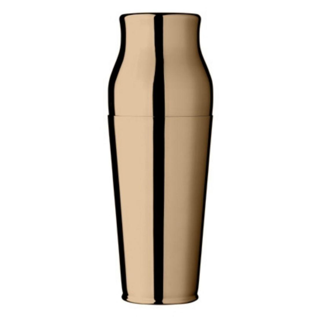 Shaker francouzský Calabrese 0,9 l zlatý