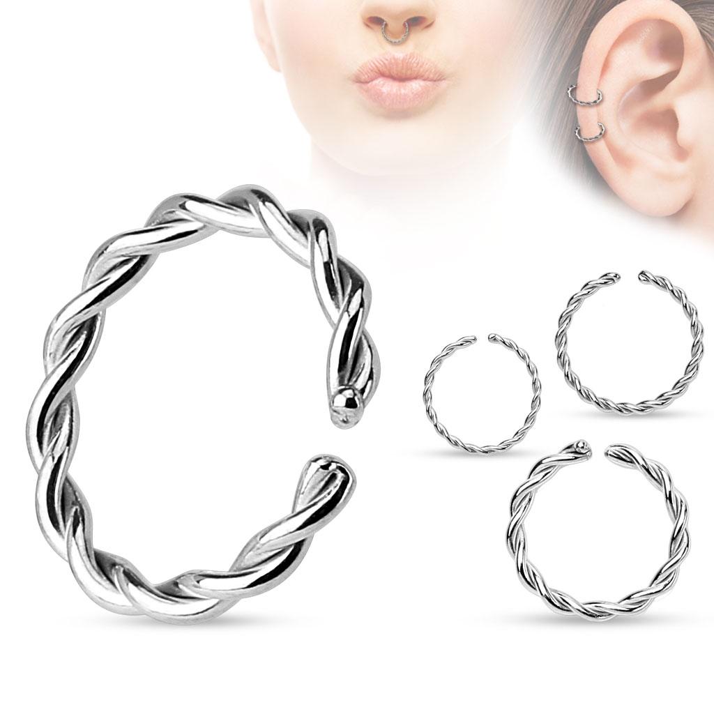 Piercing do nosu ucha - kruh - 1 5f7dcc560bb