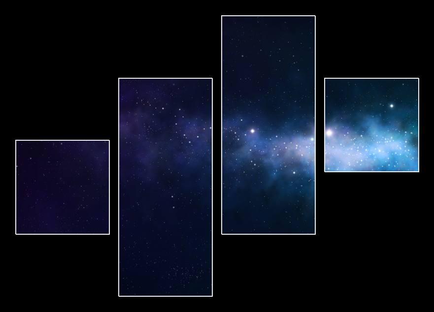 blue and purple nebula - photo #28
