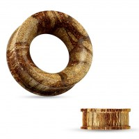 Tunel do ucha Root wood - 8 mm