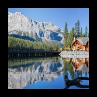 Emerald Lake, Alberta, Canadian Rockies (1/2)