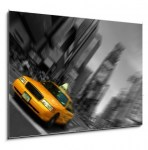 New York City Taxi, Blur focus motion, Times Square (2/2)