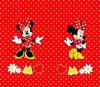 Foto závěs Disney Minnie Mouse 180 x 160 cm AG Design FCS XL 4377