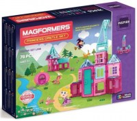 MAGFORMERS Princess Castle Set 78 dílků